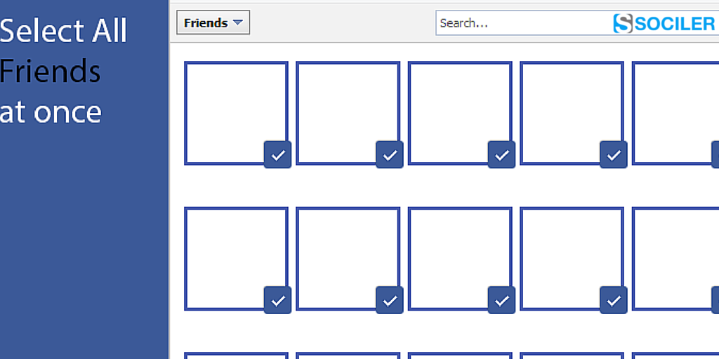 how to delete all friends on facebook at once