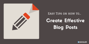 Tips on Creating Blog Posts